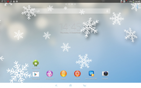 Xperia™ Winter Snow Theme | Android