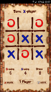Скриншот Tic Tac Toe - Крестики-нолики