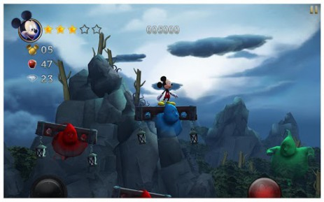 Скриншот Castle of Illusion