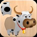 «Животные головоломка для детей» на Андроид