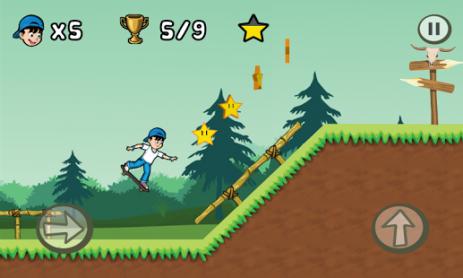 Скриншот Skater Kid