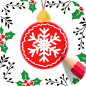 «Colorjoy: Christmas Color Book» на Андроид