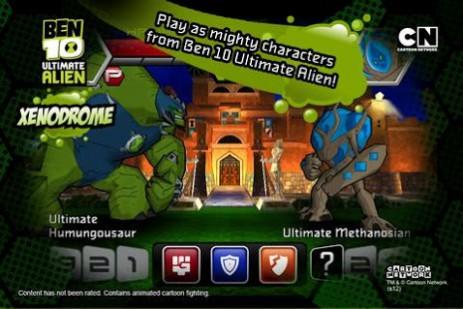 Бен 10: ксенодром | Android