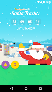 Скриншот Google Santa Tracker