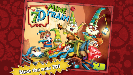Скриншот The 7D Mine Train
