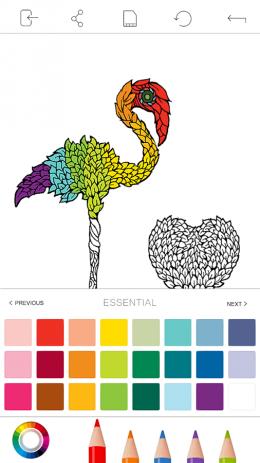 Скриншот TuMi Adult Colorfy Book – Free