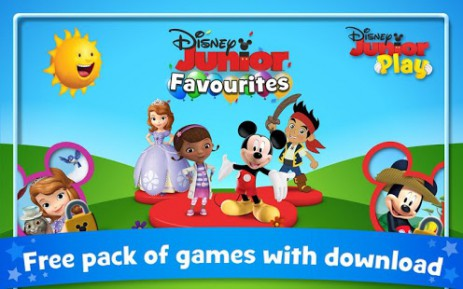 Скриншот Disney Junior Play