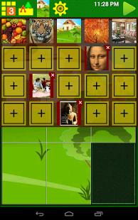 Скриншот пятнашек