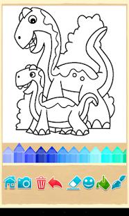 Игра «Цвета Динозавра» | Android