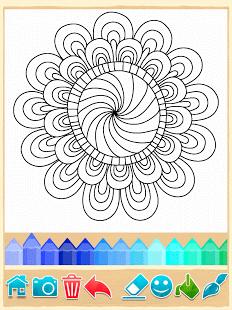 Раскраски Мандала | Android
