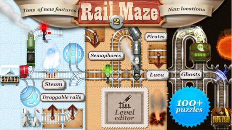Скриншот Rail Maze 2 : Пазл с Поездами