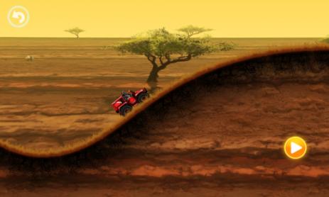 Скриншот Весёлые гонки по Сафари
