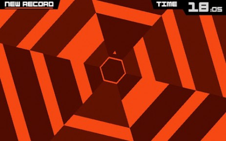 Скриншот Super Hexagon