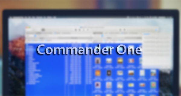 Commander One – Total Commander на MAC с Mount MTP