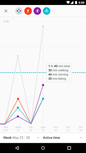 Скриншот Google Fit – фитнес-трекер