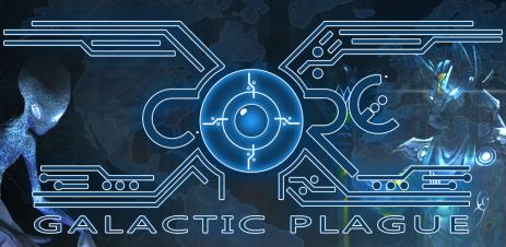 Poster X-CORE. Galactic Plague.
