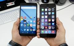 Обзор-сравнение Nexus 6 и iPhone 6 Plus