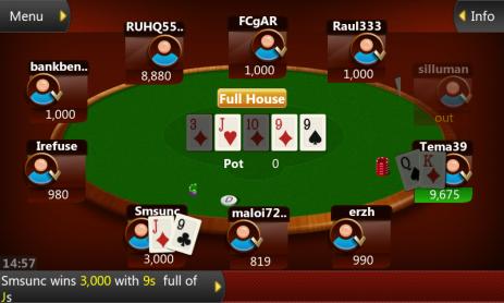 Скриншот Мобильный покер