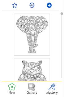 Hayvan Mandala Boyama Kitabı 111 Androidde Indir ücretsiz
