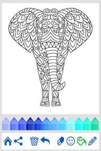 Книжка-раскраска: Животные | Android