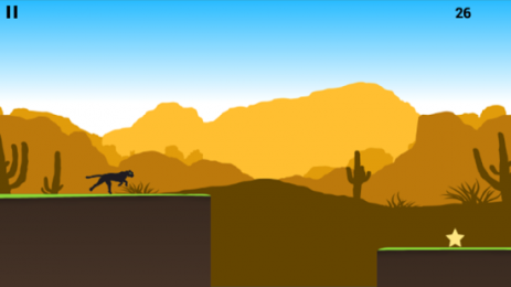 Скриншот Black Panther Runner