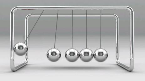 Скриншот Newton's Cradle