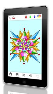 Скриншот 🎨 Мандала - взрослые книжка-раск