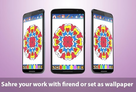 Mandala coloring pages 2 | Android
