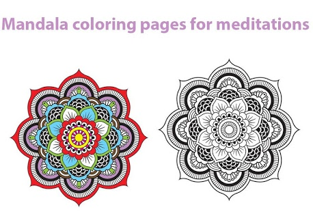 Скриншот Mandala coloring pages 2