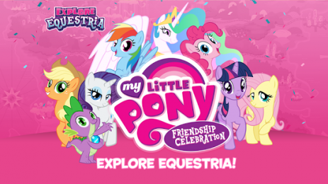 Скриншот My Little Pony Celebration