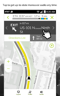 Скриншот MapQuest GPS Navigation & Maps