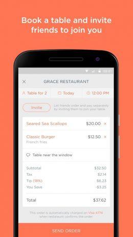 Скриншот Allset – Restaurant Ordering