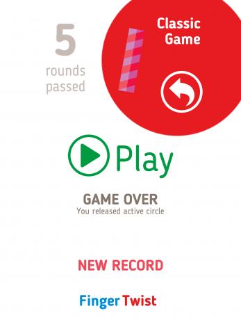 Скриншот Finger Twist
