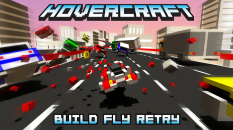 Скриншот Hovercraft — Build Fly Retry