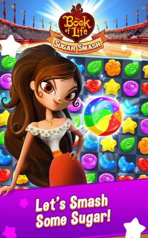 Скриншот Sugar Smash: Book of Life