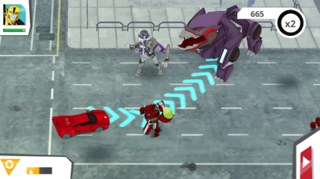 Скриншот Transformers: Robots In Disguise