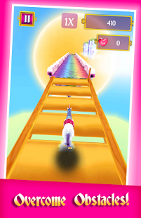 Скриншот My Little Unicorn Runner 3D 2
