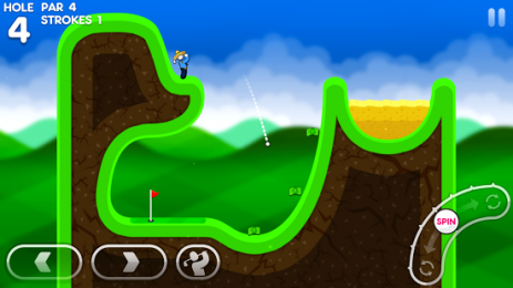 Скриншот Super Stickman Golf 3