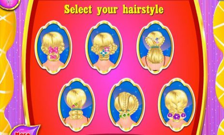 Скриншот Плетеный волосы спа салон