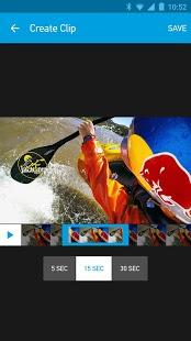 Скриншот GoPro