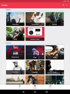 Скриншот Stream беспл. муз. для YouTube