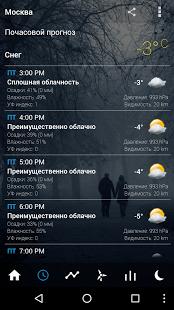 Прозрачные часы и погода | Android