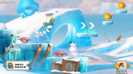 Скриншот Смурфики: Легендарный забег - Веселое приключение