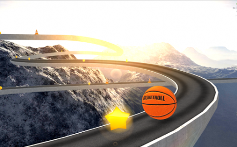 Скриншот BasketRoll 3D: Rolling Ball