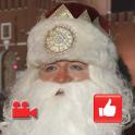 Видео поздравления Деда Мороза android