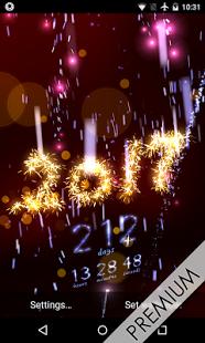 Скриншот Новый год Обратный отсчет