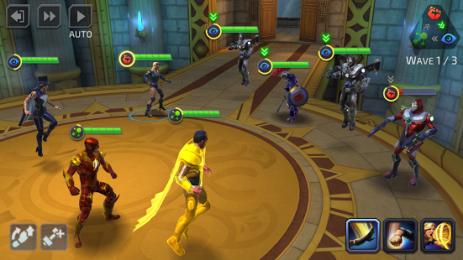 Скриншот DC Legends