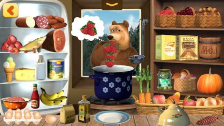 Скриншот Маша и Медведь: Готовим Еду