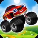 «Монстр грузовик для детей» на Андроид
