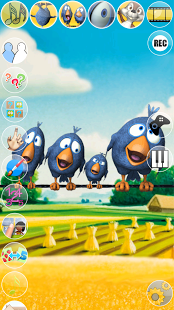 Говорящие Птицы на проводе | Android